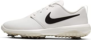 Roshe G Tour Spiked Golf Shoe (9.5 D US, Summit White/Black)
