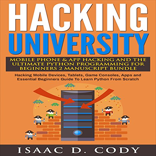 Hacking University audiobook cover art