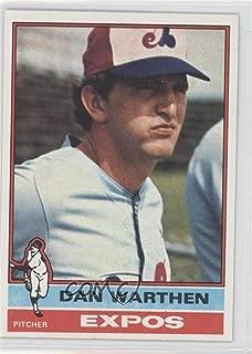 Dan Warthen (Baseball Card) 1976 Topps - [Base] #374