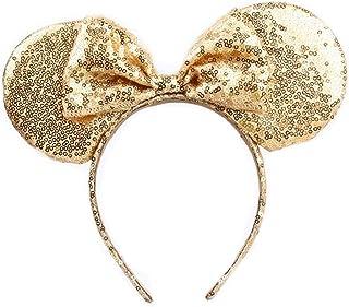 Mickey Mouse Sveglio Orecchie Fascia Farfalla Hairband Glitter For Girls