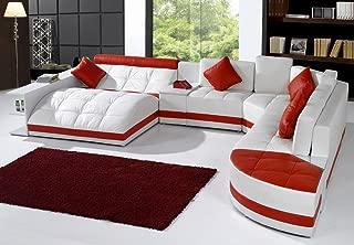 Tosh Furniture Miami Contemporary Sectional Sofa