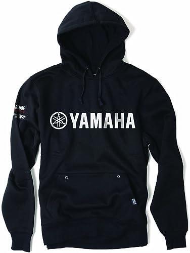 Factory Effex 16-88232  'YAMAHA' Team Pullover Sweatshirt (Black, Medium)
