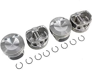 DNJ P805.20 Oversize Piston Set for 2008-2013 / Audi, Volkswagen / A3, A3 Quattro, A4, A4 Quattro, A5, A5 Quattro, A6, Beetle, Eos, GTI, Jetta, Passat, Q5, Tiguan, TT, TT Quattro / 2.0L / DOHC / 16V