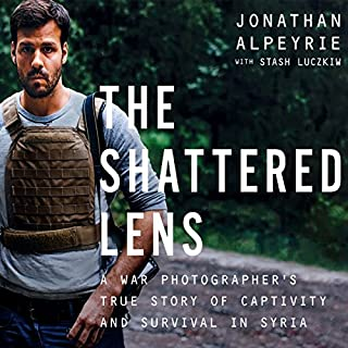 The Shattered Lens audiobook cover art