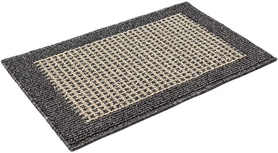 28X18 Inch Washable Kitchen Rug Mats are Made of Polypropylene Square Rug Cushion Which is Anti Slippery and Stain Resistance