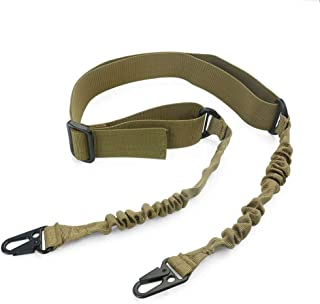 Feyachi 2 Point Rifle Sling/Gun Sling Adjustable Shoulder Strap with Metal Hook