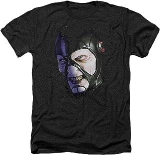 Trevco Mens FAR104-T-HA Farscape Keep Smiling Heather Adult T-Shirt Short_Sleeve T-Shirt - Black - Medium