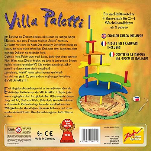 Zoch 601122900 - Juego de Mesa Villa Paletti (Instrucciones en ...