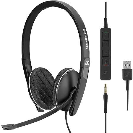 【国内正規品】EPOS | SENNHEISER USB&3.5mm ジャック接続 UC ヘッドセット SC 165 USB AWSテクノロジーパートナー認定製品