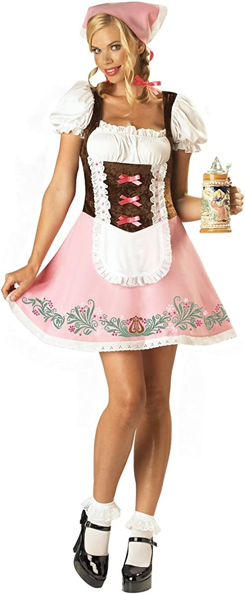 Finally popular brand Fetching Fraulein Costume - 2-6 Size Daily bargain sale Small Dress