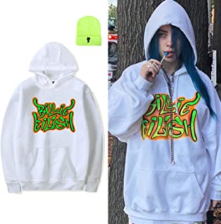 Best white billie eilish hoodie Reviews