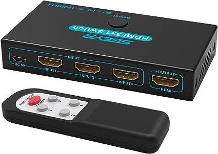 Sgeyr 3X1 4K Hdmi Switch