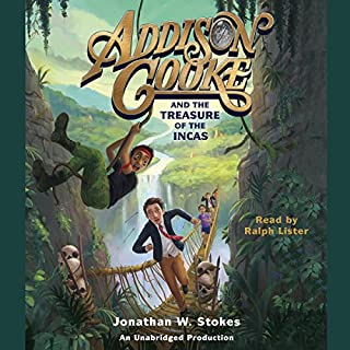 Addison Cooke and the Treasure of the Incas cover art