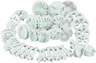 Tampon emporte-pièce Emporte-pièce en forme de outils de modelage ilauke 36tlg. DIY Flocons de neige fleurs fleurs emporte...