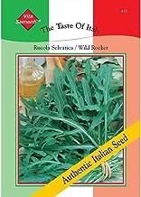 Thompson /& Morgan The Taste of Italy Lettuce Riccia Rossa Da Taglio 3000 Seed