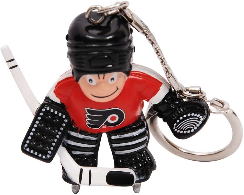 NHL Philadelphia Flyers Goalie Keychain