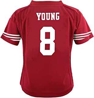 Nike Steve Young San Francisco 49ers Home Red Jersey Boys (S-L)