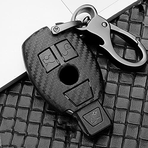 Scrub ABS Car Key Protect Case Cover For Mercedes Benz BGA AMG W203 W210 W211 W124 W202 W204 W205 W212 W176 E Class...