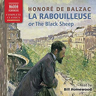 La Rabouilleuse audiobook cover art