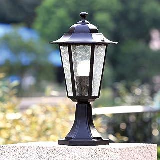 SEESEE.U European Modern Retro Garden Landscape Waterproof Outdoor Post Lights Pillar Lamp Wall Gate Traditional Victoria ...