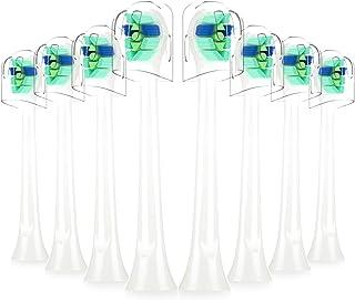 電動歯ブラシ 替えブラシ, ITECHNIK フィリップス ソニッケアー 兼用 互换ブラシ ダイヤモンドクリーン ミニ ブラシヘッド (8ピース)