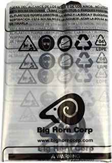 Big Horn 11778 Disposable Clear Plastic Dust Bags For Older Small 14-Inch Units. 5-Pack.