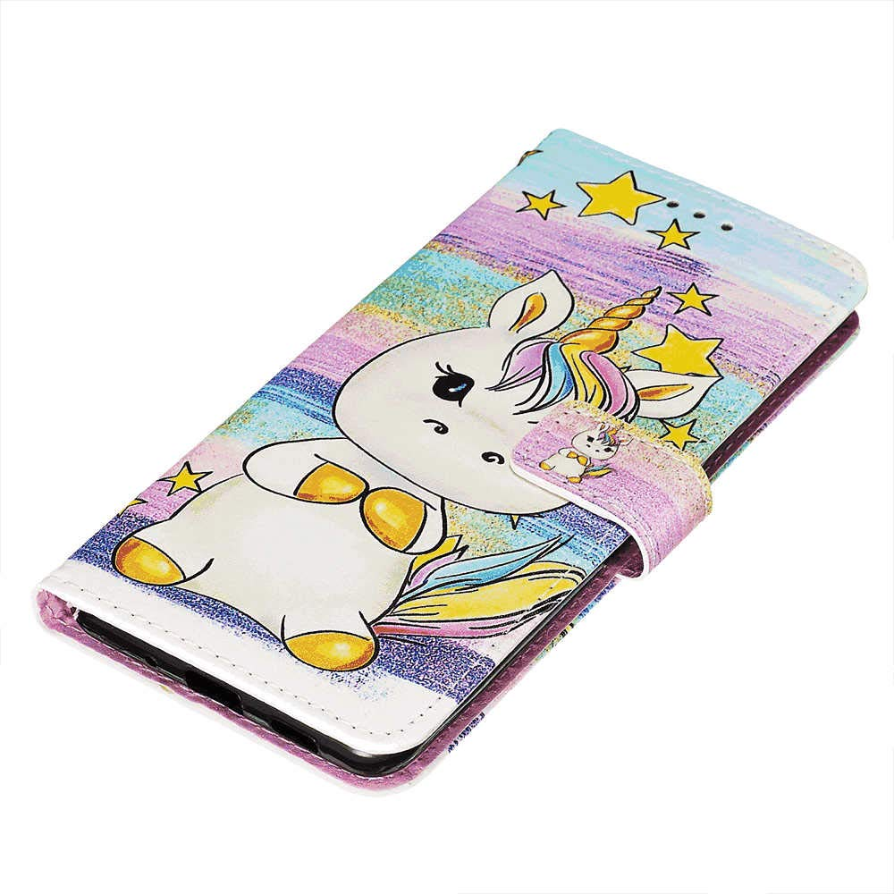 Unicorn Wallet Case for Samsung Galaxy S10 Leather Cover Compatible with Samsung Galaxy S10