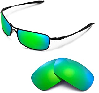 Walleva Replacement Lenses for Oakley Crosshair 2.0 Sunglasses - Multiple Options Available