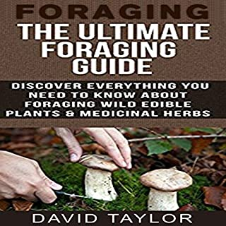 Foraging: The Ultimate Foraging Guide audiobook cover art