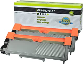 GREENCYCLE 2 PK High Yield Toner Cartridge Replacement Compatible for Brother TN660 TN630 Laserjet DCP-L2520DW HL-L2340DW HL-L2380DW Printer