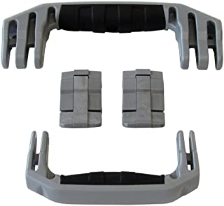 2 Grey Replacement Handles / 2 Latches for Pelican 1510 or 1560 Customize your Pelican Case.