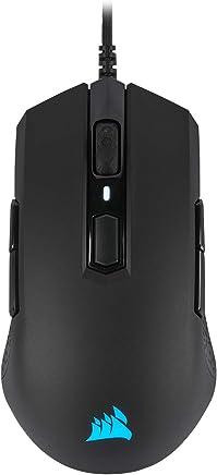 CORSAIR M55 RGB Pro Ambidextro Multi-Grip Gaming Mouse RF inalámbrico Óptico 800DPI ratón