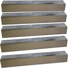 Stainless Steel Heat Plates (5 Pack) for Brinkmann 810-1750-S, 810-3820-S, 810-3821-S and Other Grill Models (Dims: 16 13/16 X 3 3/16
