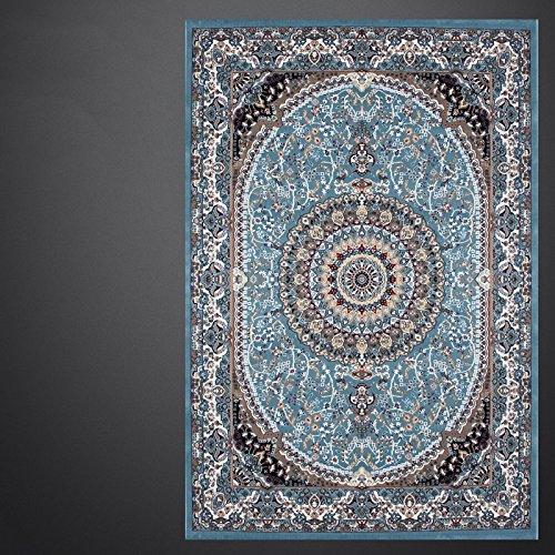BAGEHUA maßgeschneiderte Kunst türkische Wohnzimmer blau Iranische Teppiche Neue Amerikanische Französisch, 1.6Mx2.3M, Mz 8813 Bs