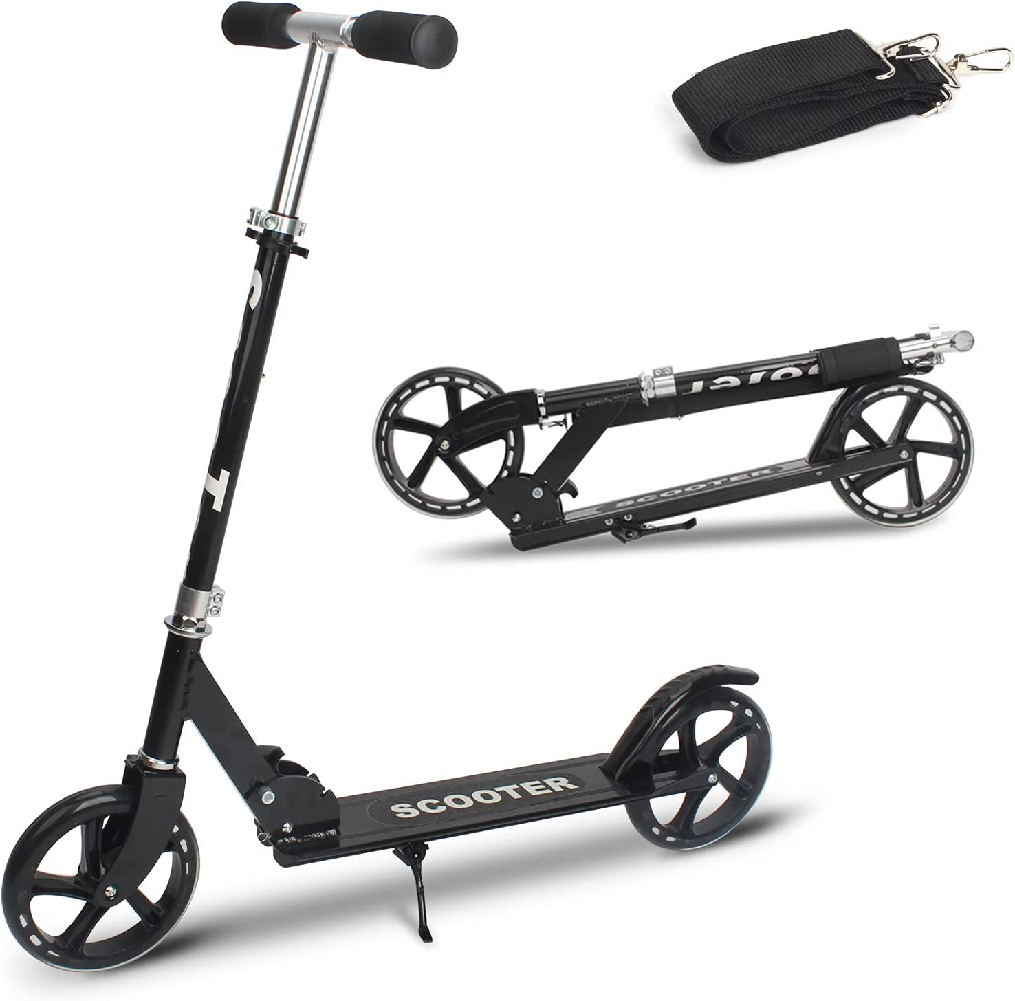 Kick Limited time trial Cheap mail order shopping price Scooters with 200mm Large Wheels 10 Kids for Scooter Years