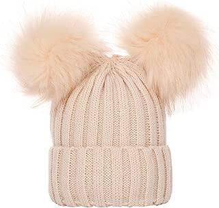 DFVVR Cute Newborn Toddler Kids Baby Boy Girl Turban Cotton Beanie Hat Winter Warm Cap