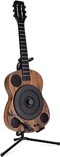 Beatfoxx GT-25 Chuck draaitafel in gitaarvorm - verticaal retro vinyl draaitafel met directe aandrijving - platenspeler me...