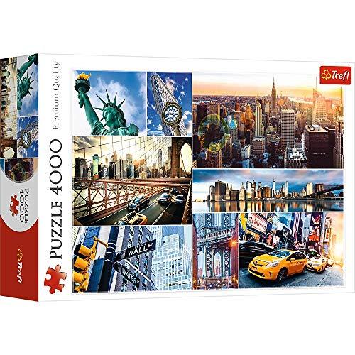 Trefl 45006 Puzzles 4000 Puzzels, farbig