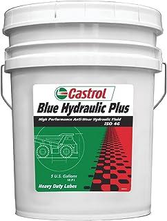 Castrol 40247 Blue `Hydraulic Plus 46` Hydraulic Fluid - 5 Gallon