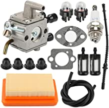 Hayskill Replacement Carburetor with Air Filter Repower Kit for STIHL FS120 FS200 FS250 FS300 FS350 FR350 FR450 FR480 String Trimmer Carb Replace 4134 120 0653 4134 120 0603