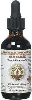 Myrrh Alcohol-FREE Liquid Extract, Organic Myrrh (Commiphora myrrha) Gum Resin Glycerite 2 oz