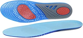 Silicon Gel Insoles Foot Care Shock Absorption Sport Insole size L