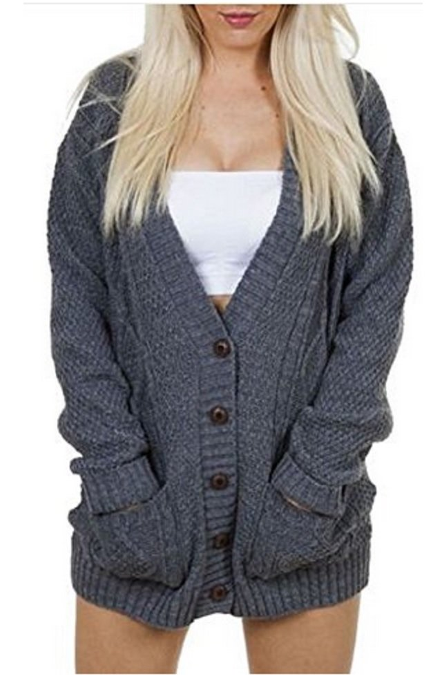 Chunky Knit Cardigan Pattern - FREE PATTERNS