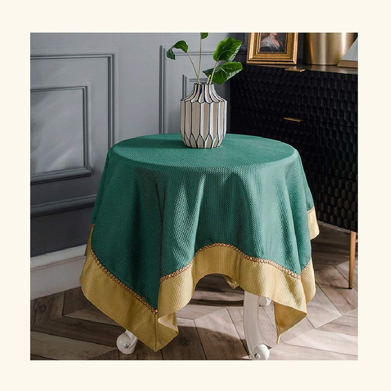 Tovaglia rossoonde da tavola in Poliestere, Lavabili in Lavatrice, Lavabili in Lavatrice, for Cena, for Feste, for Uso Esterno (Coloree   C, Dimensione   Round-200cm)