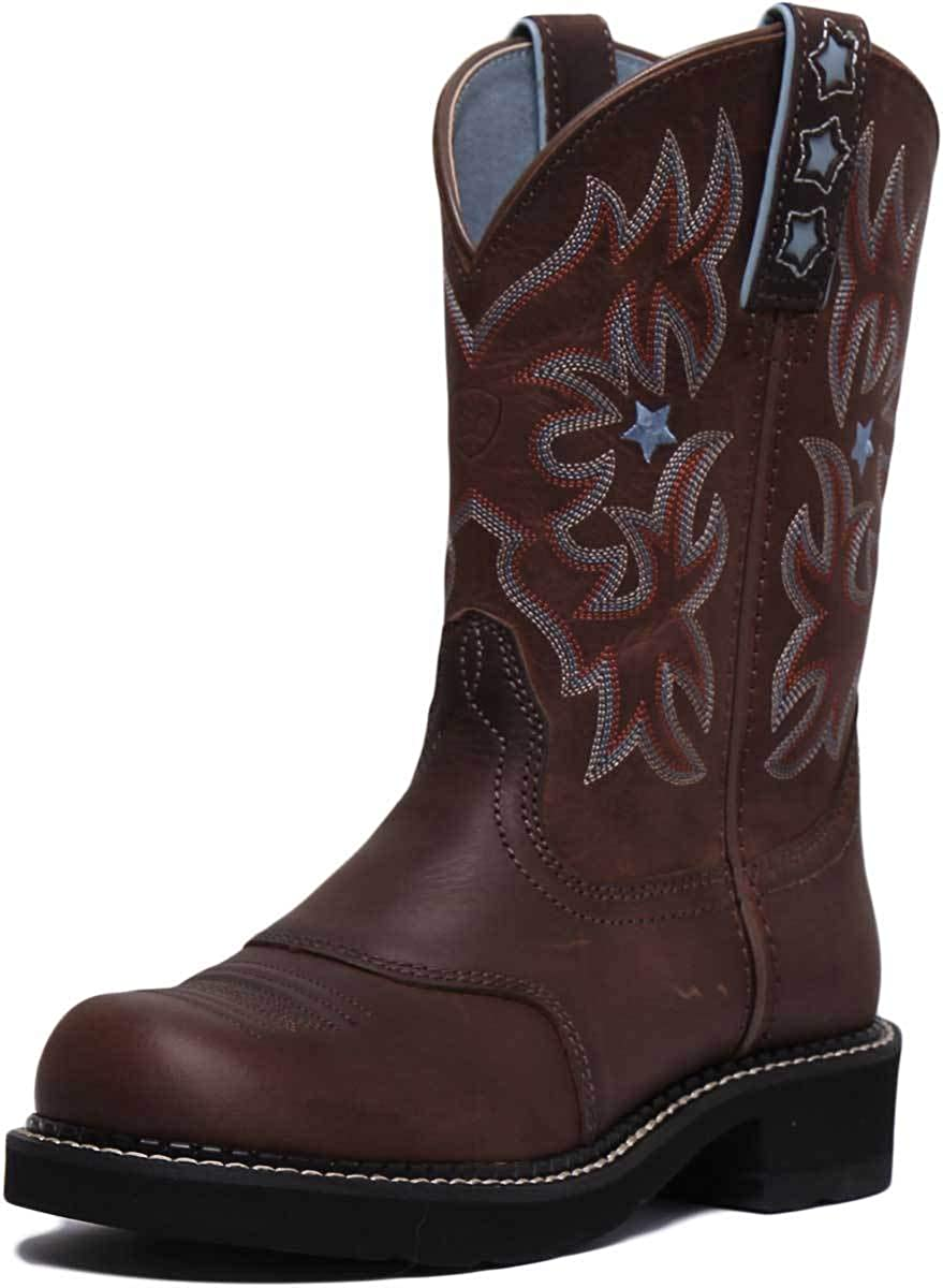 ARIAT Probaby Mid Calf Boots in Brown