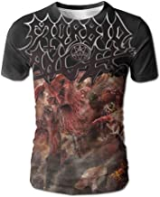 EEMNJIHH Mens T Shirts-Particular Morbid Angel Kingdoms Disdained White