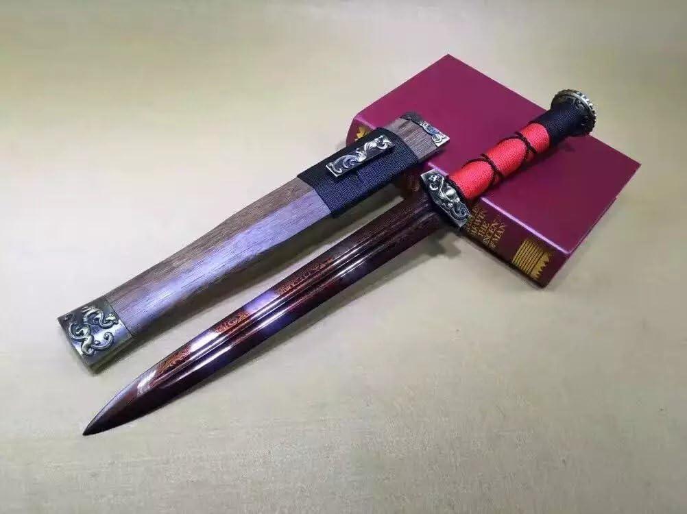 公式ショップ Chinese Sword モデル着用&注目アイテム Short Han jian Allo Scabbard Rosewood Steel Folded