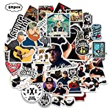 Singer Stickers 50PCS Country Music Singer Vinyl Decals Perfect to Laptop Case Water Bottle Skateboard Computer Gifts for Boys Adults
