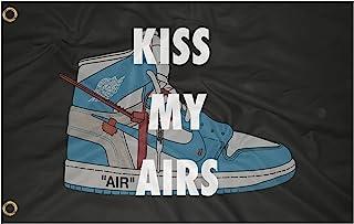 Flag Collab KISS MY AIRS JORDAN FLAG 3x5 feet flag Nike...