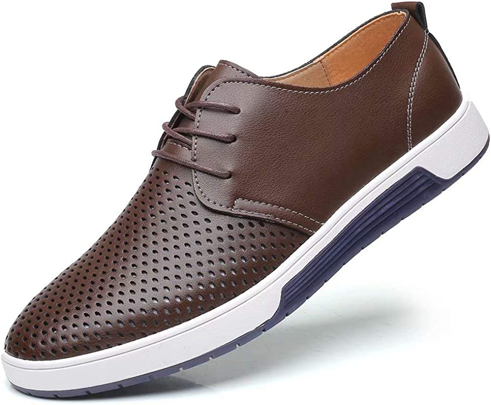 Indefinitely konhill Men's Casual Oxford Shoes Dress - Breathable Loafe Complete Free Shipping